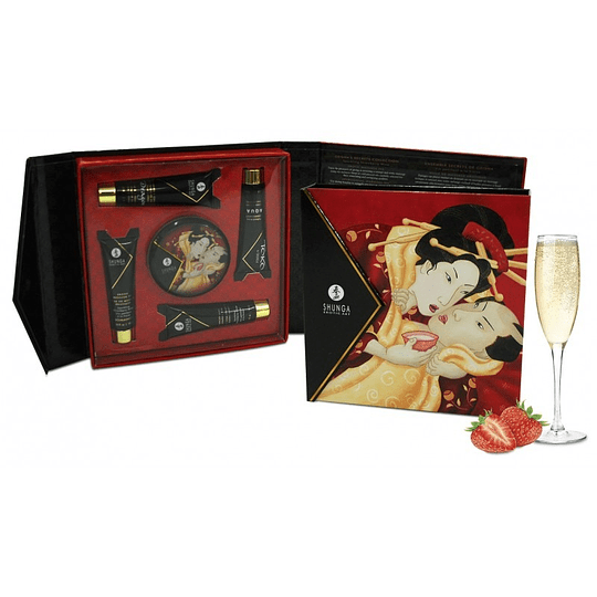 Kit Secretos de la Geisha Frutilla