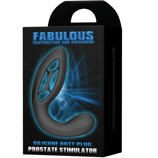 Plug Anal de alta estimulación prostática Recargable