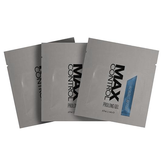 Gel Prolongador Maxculino MAX Control/ Pack x 3 unidades