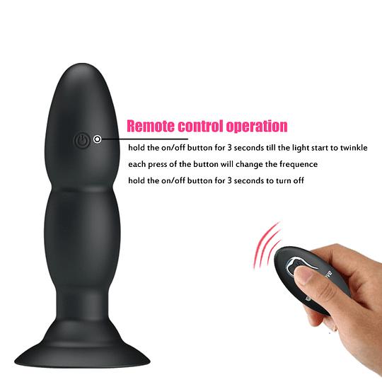 Vibrador Anal Pretty Love c/ Control Remoto