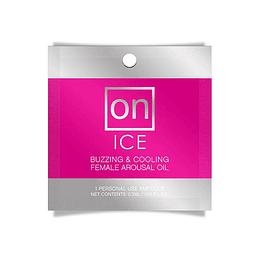Sachet Aceite Excitante Femenino ON Ice