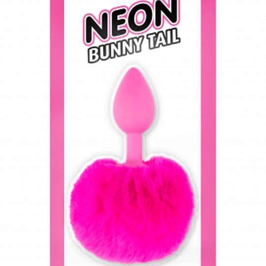 Plug Anal Bunny Tail NEON