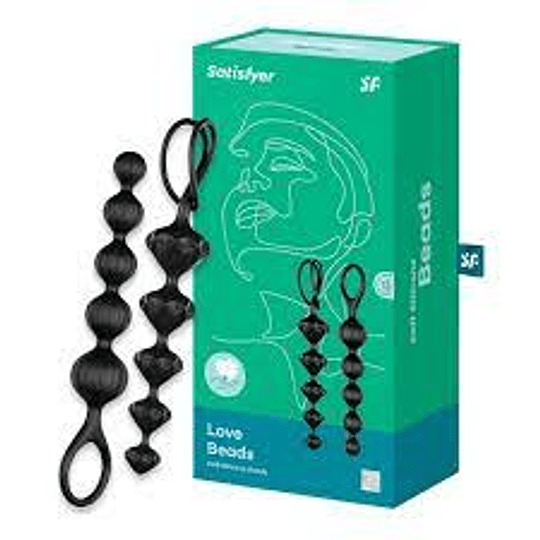 Bolitas Anales Satisfyer Love Beads Silicona