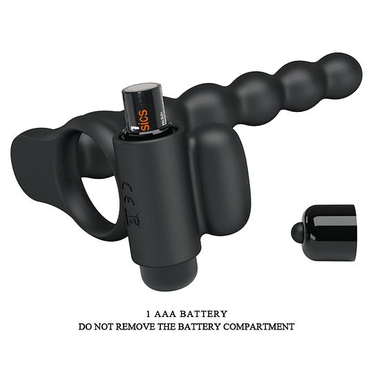 Super Anillo Vibrador Hercules Penis Sheath III