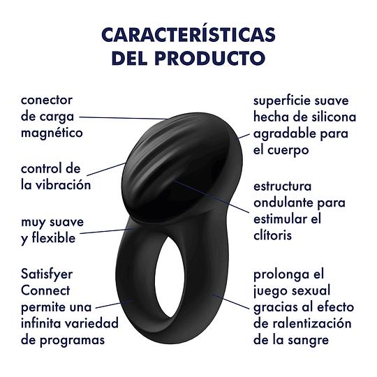 Anillo Vibrador Bluetooth Satisfyer Signet Ring