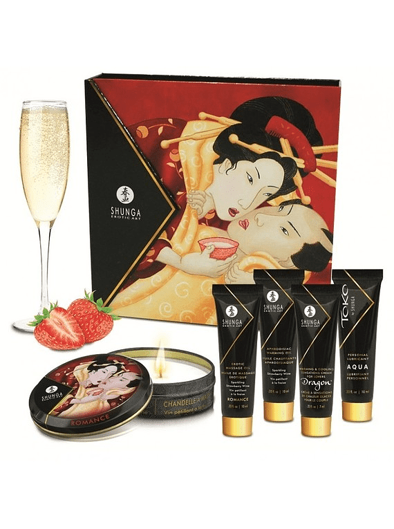 Kit Secretos de la Geisha Frutilla