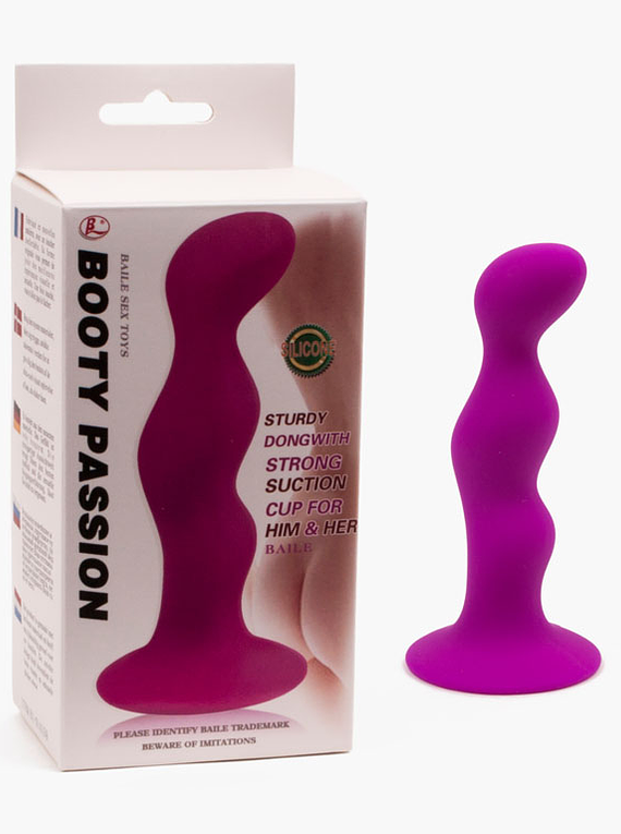 Plug Anal con Base de Succion