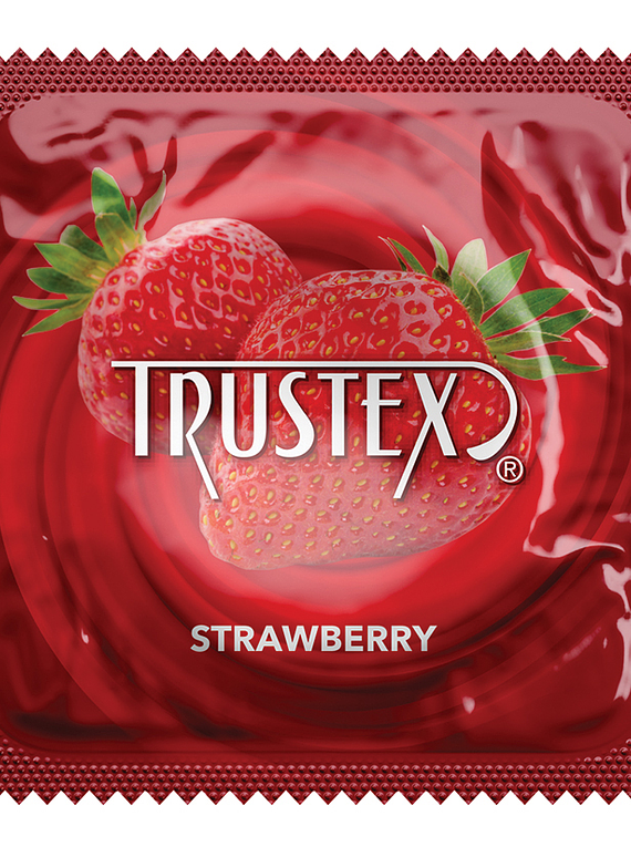 Condón con sabor Trustex