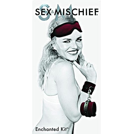 Kit Antifaz + Esposas