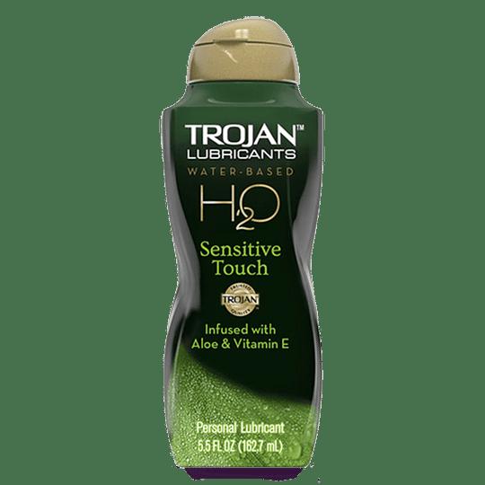 Lubricante Trojan Sensitive Touch Aloe