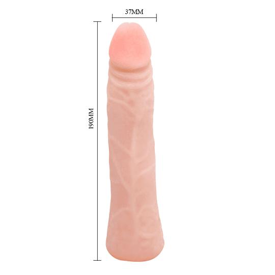 Dildo TPR Fresh ( 19cms )