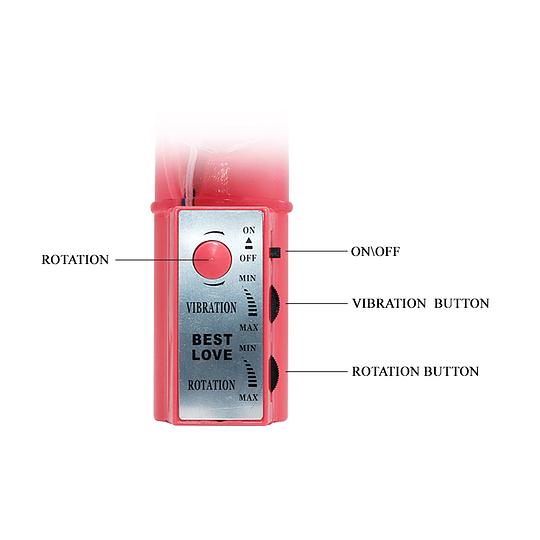 Vibrador TPR Rotador Velocidad variable