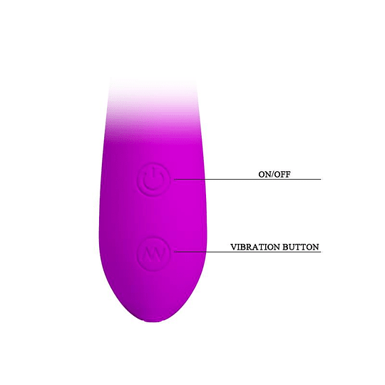 Vibrador Recargable Nigel / 30 funciones