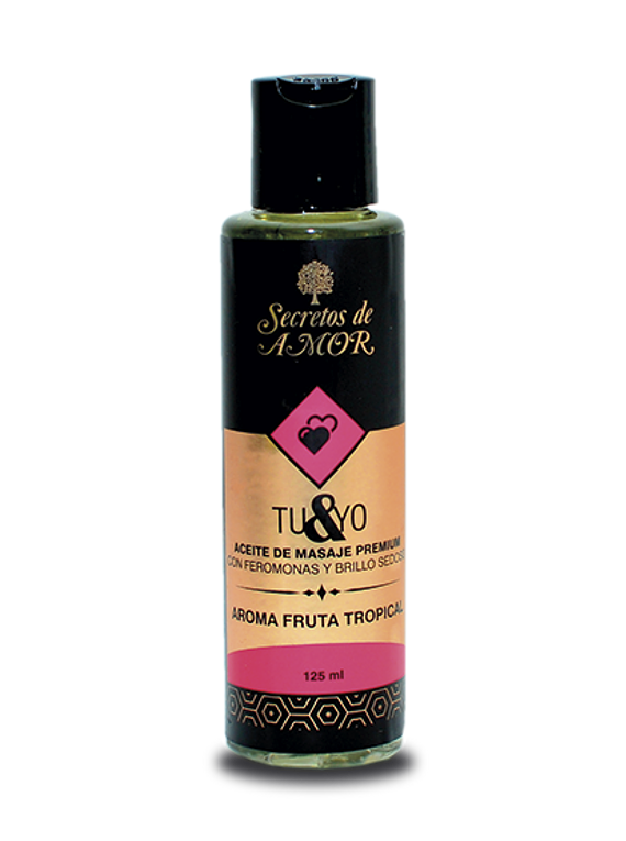 Aceite de Masaje Tu & Yo Fruta Tropical
