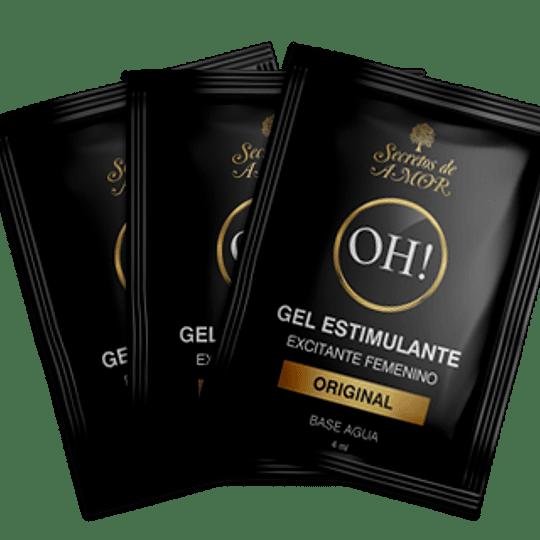 Sachet Estimulante Femenino OH  SDA x 3 unidades