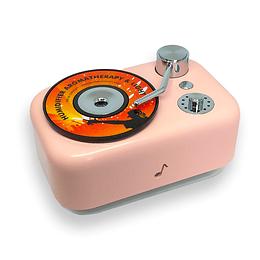Humidificador y Difusor de Aromas Toca Disco c/ Luz