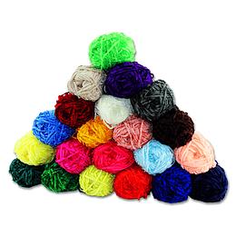 Lana Aterciopelada Diversos Colores de 100g