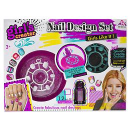 Set Juguete Diseño de Uñas