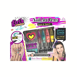 Juguete Set De Manicure