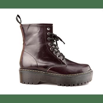 Combat Boot Cherry