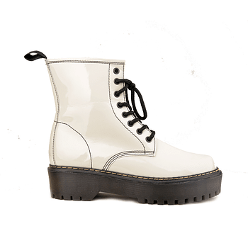 Combat Boot Charol Marfil