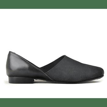 D'Orsay Negro Escamas