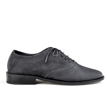 Oxford Escamas Negro