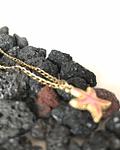 Cadena en enchape con Dije de estrella de Mar