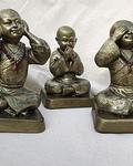 Estatuas de Los 3 Budas Sabios
