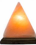 Lampara de Sal  de  Himalaya  con forma de Pirámide