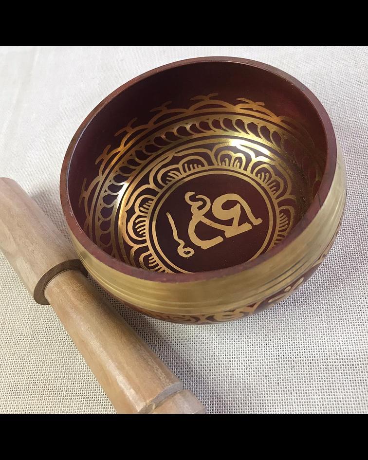 Cuenco Tibetano 7 Metales Miniatura nota MI