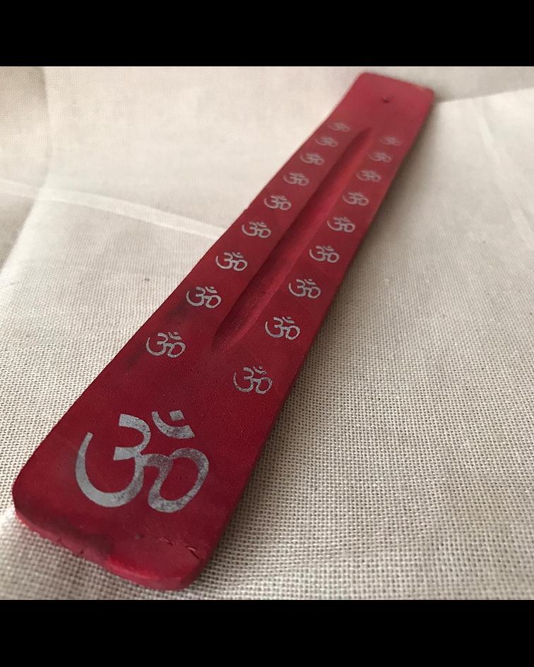 Tabla para porta incienso de Madera  colores