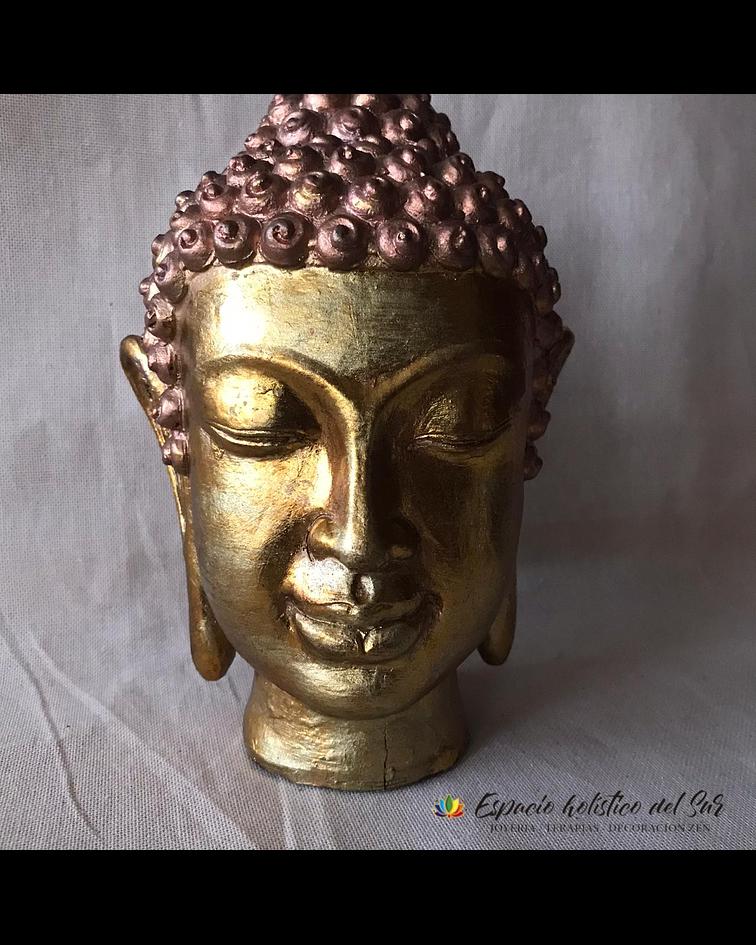 Cabeza de Buda Dorado