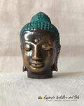 Cabeza de Buda Dorado miniatura en Bronce