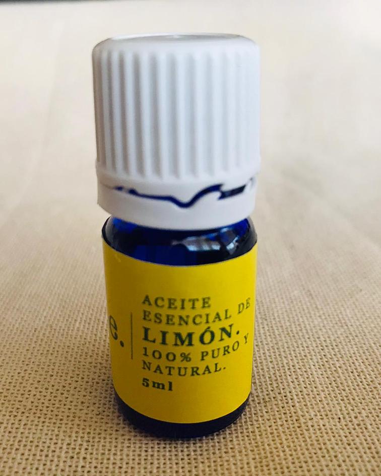 Aceite esencial de Limón, para aromaterapia