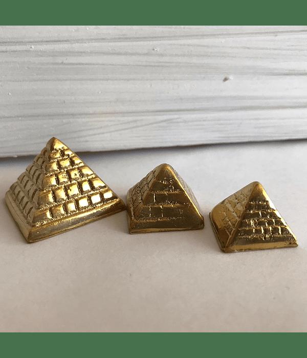 Pirámides de Bronce trío miniaturas