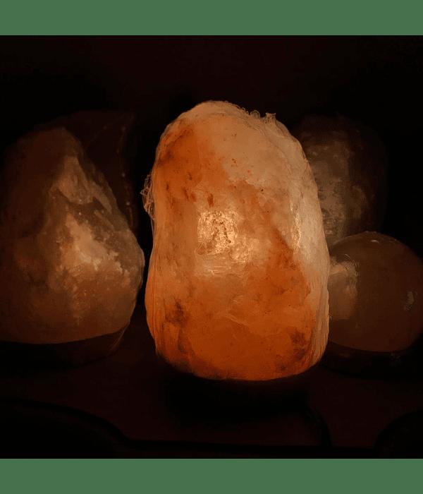 Lampara de Sal del Himalaya Roca