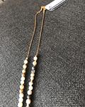 Mini collar de Amazonitas con dije de detente de sagrado corazón de Jesús