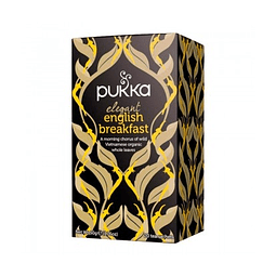 TÉ ORGÁNICO PUKKA - ENGLISH BREAKFAST x 20 bolsitas