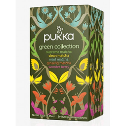 TÉ ORGÁNICO PUKKA - GREEN COLLECTION x 20 bolsitas