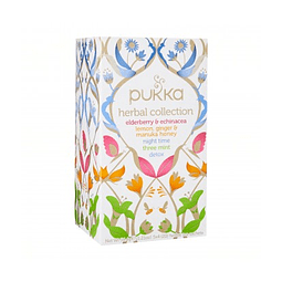 TÉ ORGÁNICO PUKKA - HERBAL COLLECTION x 20 bolsitas