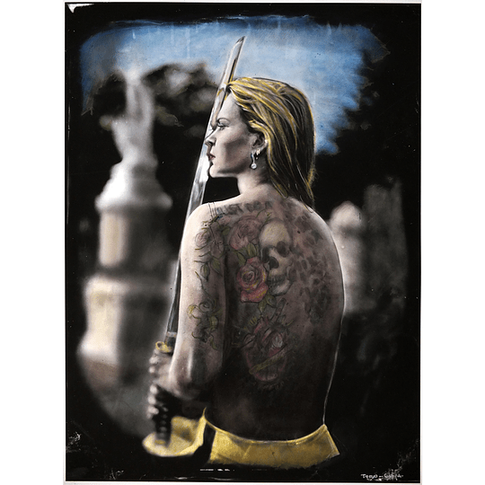 Mauricio Toro Goya - Kill (iluminada copia única)