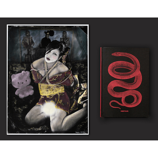 Mauricio Toro Goya - Gulakimono (iluminada copia única)