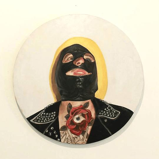 Matías San Martín Jacob - Retrato con máscara
