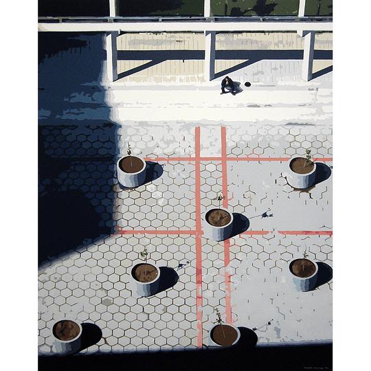 Carola Ramírez - Tomando el sol en las torres de Tajamar