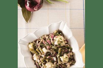 🥗¡Ensalada templada de lentejas, coliflor, poroto verde y Zaatar!⠀ ⠀