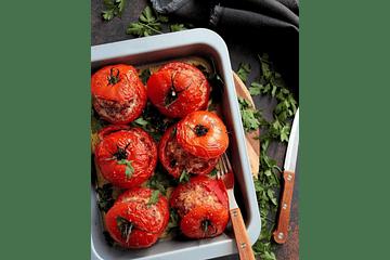 🔥¡Te mueres con estos sabrosos Tomates rellenos de champiñones!⠀ ⠀