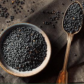 Lentejas Negras - Beluga - Caviar