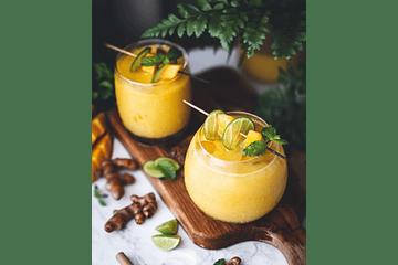 🥤¡Lassi de Mango con Cúrcuma y Cardamomo!⠀