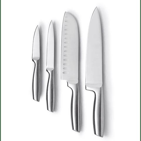 Set de Cuchillos Acero